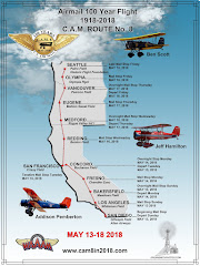 Celebrating 100 years of mail flights