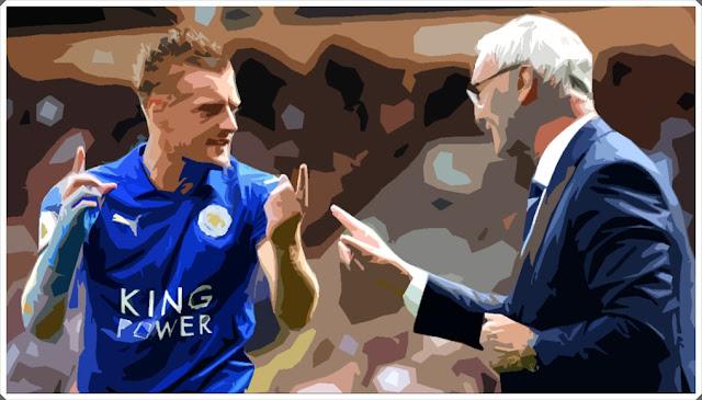 Jamie Vardy Leicester City Claudio Ranieri