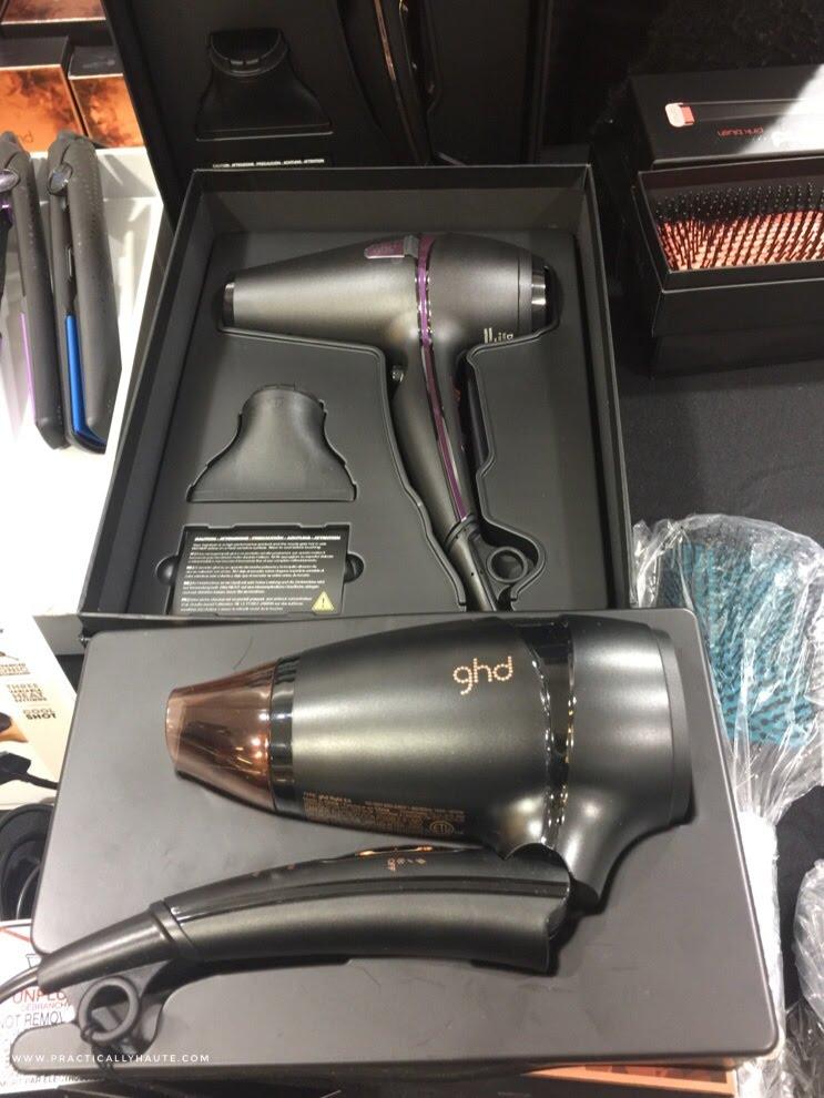 ghd sample sale ravel hair dryer