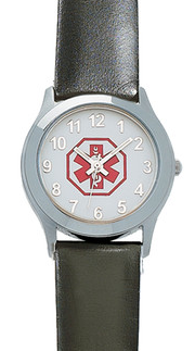 medical alert wristwatch