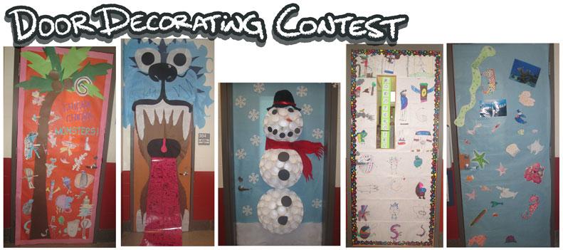 Harptoons: Door Decorating Contest
