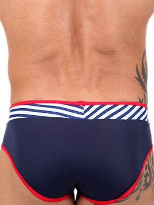 Pistol Pete Wired Brief with V-Wire Swimwear Back Detail Gayrado Online Shop