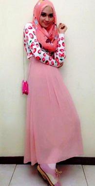 model baju gamis remaja putri