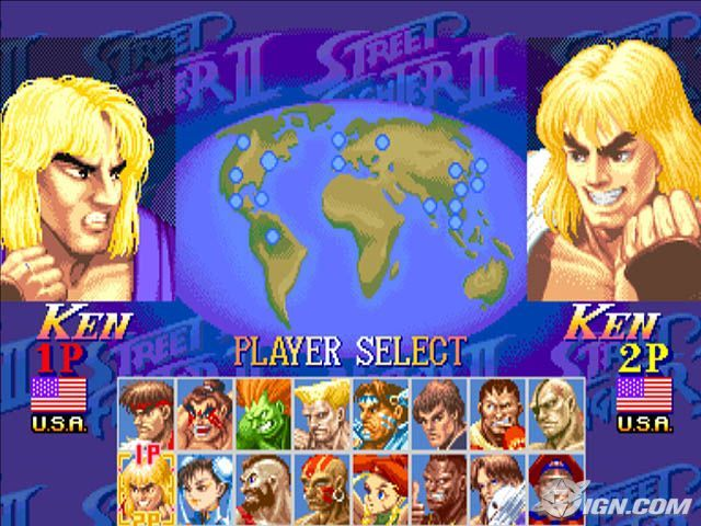 Street Fighter Anniversary Collection PS2 ISO - isoroms.com