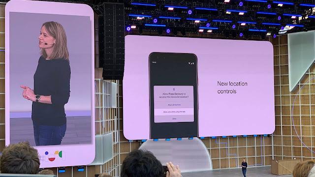 Android Q يدفع الخصوصية: عناصر تحكم موقع التطبيق الجديد ، تحديثات أمان أسهل