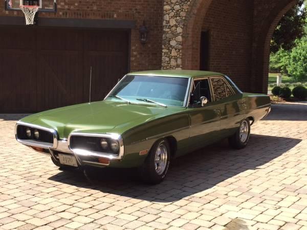 1970 Dodge Coronet R/T Sedan