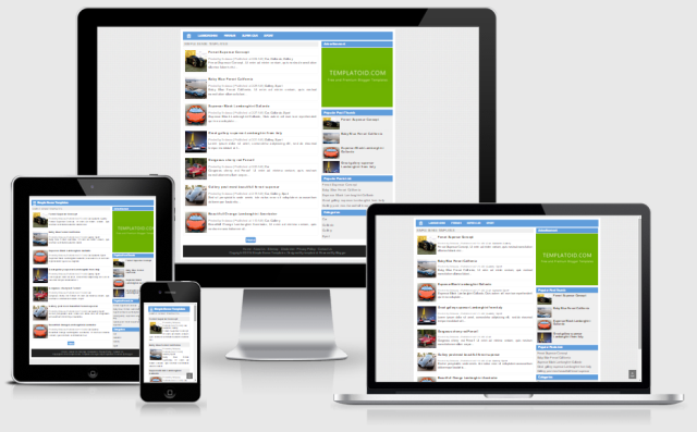 Simple Sense Responsive Blogger Template ~ Templates Stores