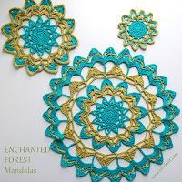 crochet patterns, how to crochet, mandalas, doily, coasters,