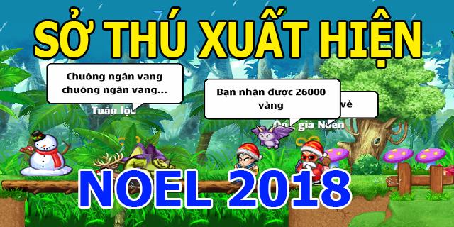 sự kiện ngọc rồng online noel 2018