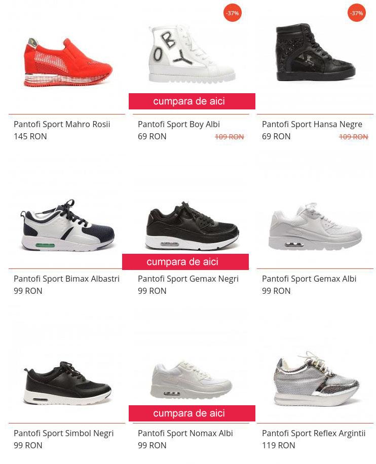 pantofi sport dama iefitni