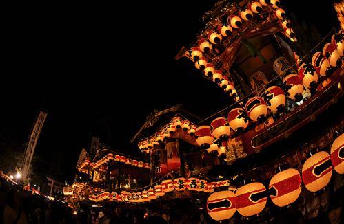 Ikeda Taisai (Local Town's Festival), Ikeda Town, Fukui Pref.