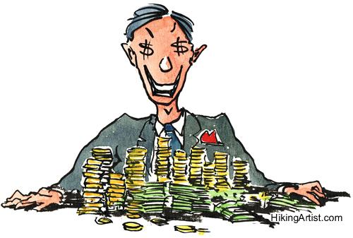 佛學小故事:貪是貧的因,貧是貪的果