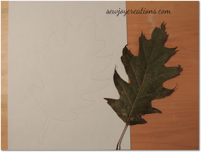 large oak leaf