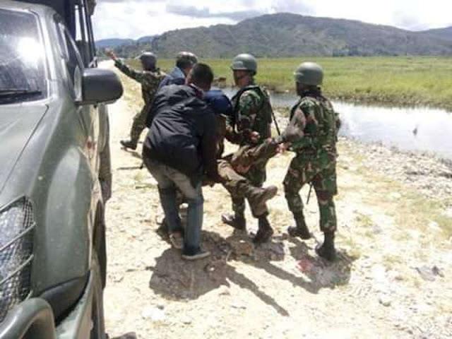 Kelompok Bersenjata Serang Pos TNI di Tingginambut, 7 Anggota Tewas Tertembak