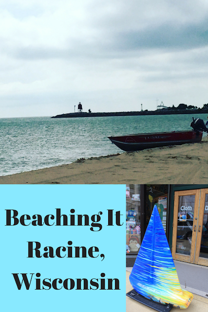 North Beach in Racine, Wisconsin