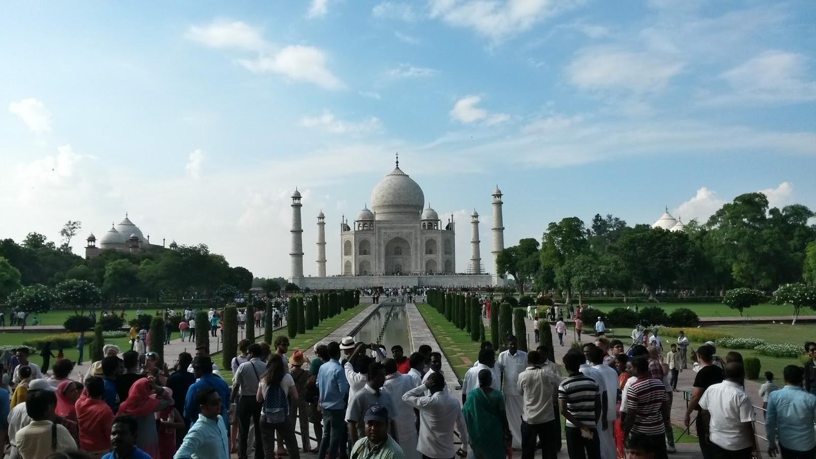 Maj Mahal Mac Mahal India Hindistan Agra