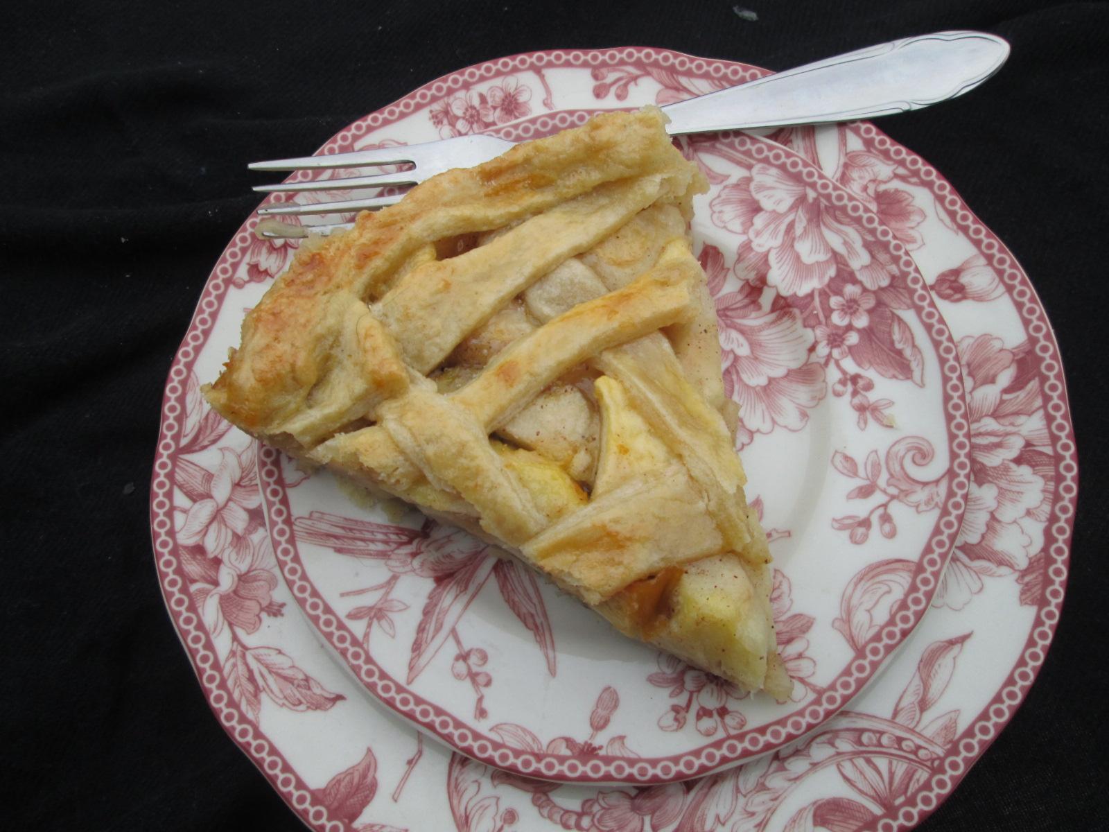 Old-fashioned Lattice-Top Apple Pie ( Tarta de manzanas ...