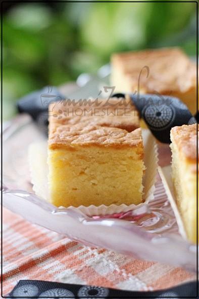 Lemon Butter Cake Resepi