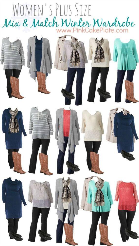 Ideas Para Vestir En Invierno Si Eres Gordita