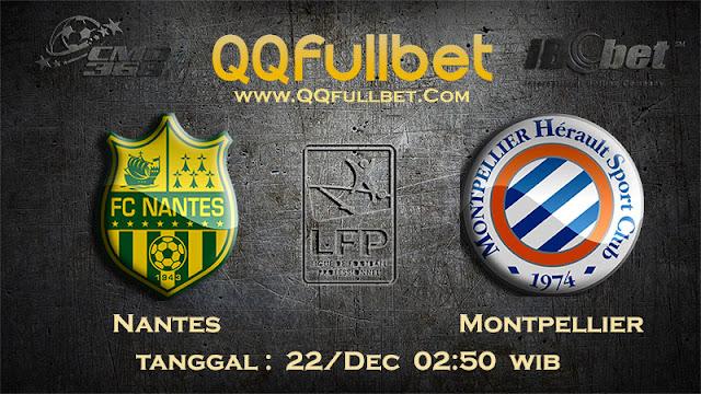 PREDIKSIBOLA - Prediksi Taruhan Bola Nantes vs Montpellier 22 Desember 2016 (Liga 1 Perancis)