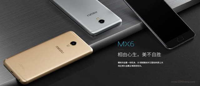 Meizu MX6 With 4GB RAM, 5.5-inch Display Launched