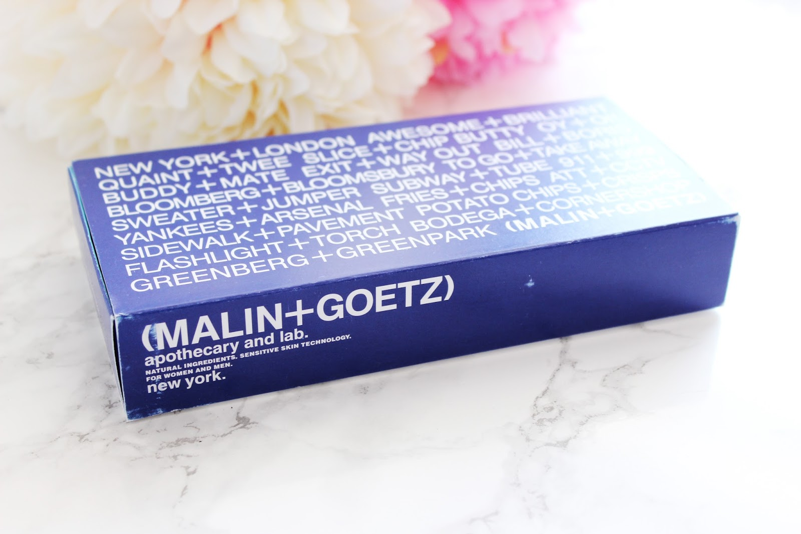 Malin+Goetz skincare by Jen Lou Meredith