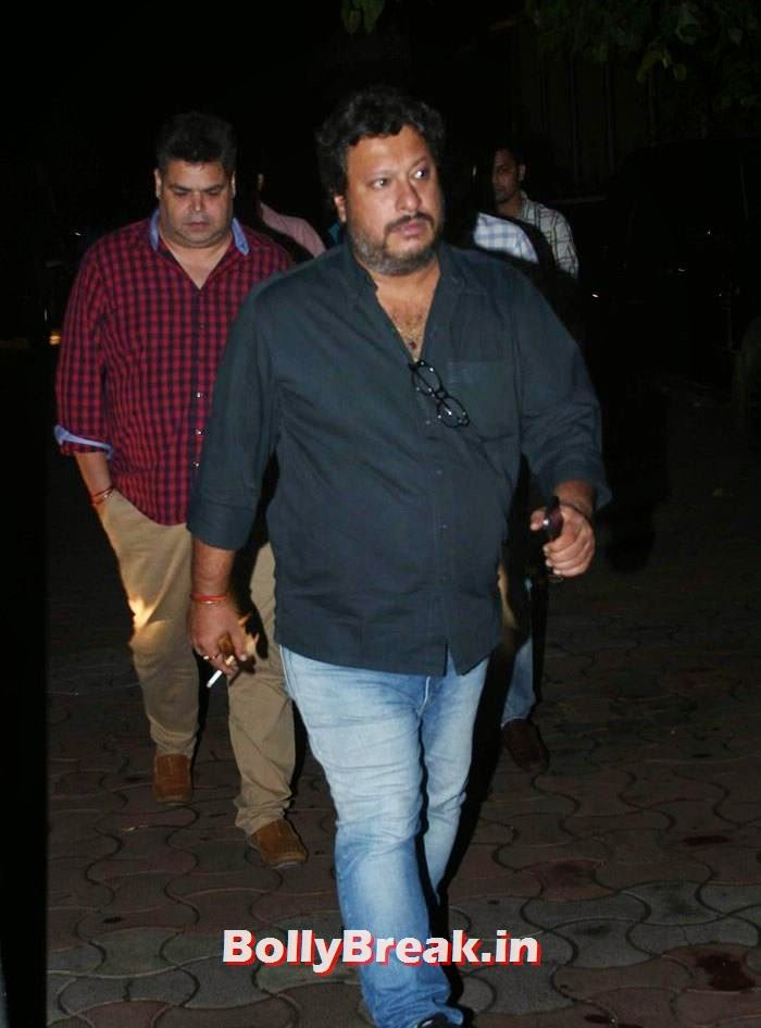 Tigmanshu Dhulia, Celebs clicked at 'Kick' Special Screening at Yash Raj Studios