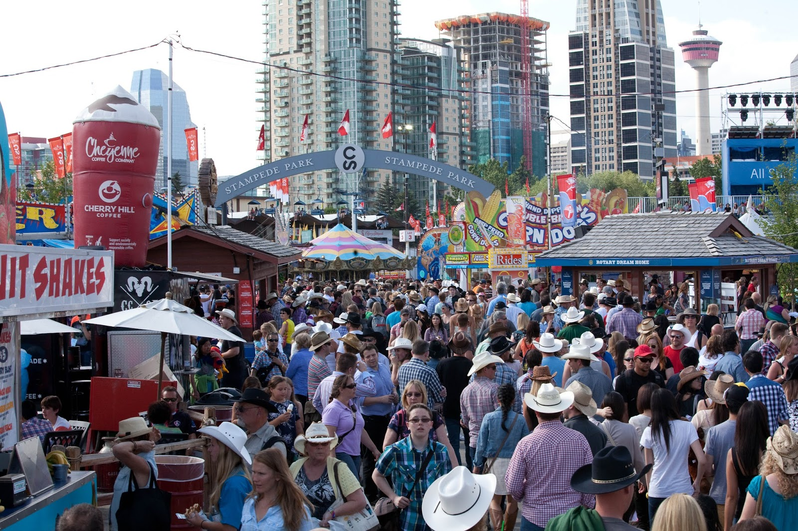 We Four Mallyons: The Calgary Stampede