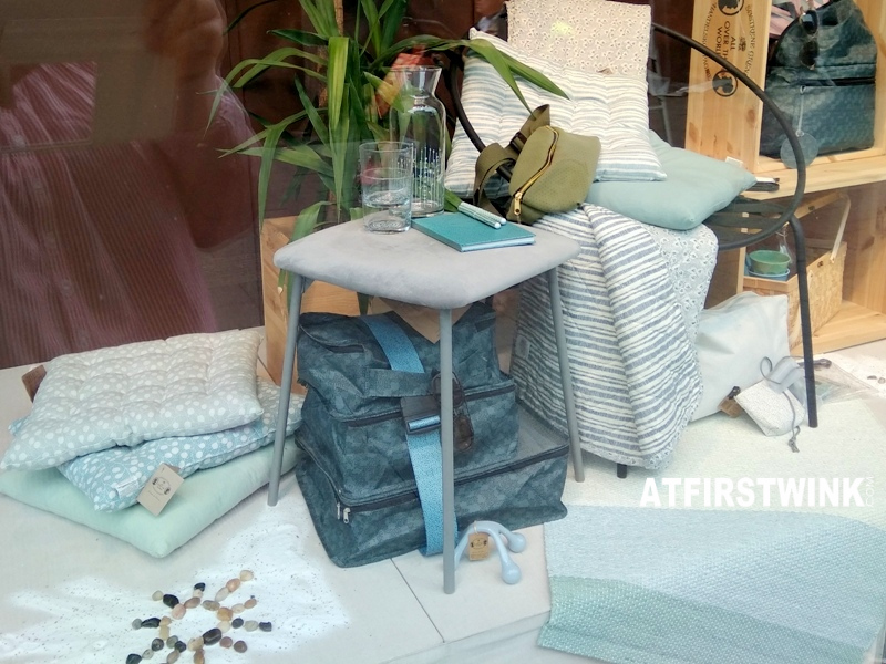 sostrene grene rotterdam store velour stool plaids rugs cushions glasses bottle travel bags