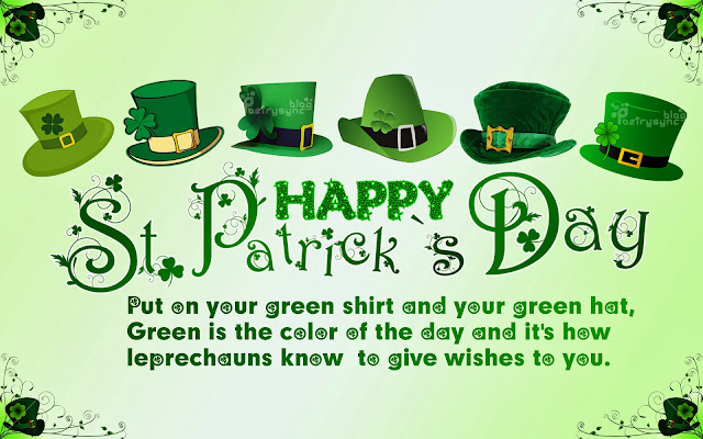 Happy St Patrick's day 2016 quotes, images, sayings, blessings, idioms