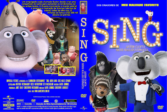 Capa DVD Sing Quem Canta Seus Males Espanta [Exclusiva]