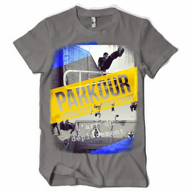 tshirts parkour