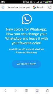 Hati-Hati !! Modus Penipuan Terbaru WhatsApp Color