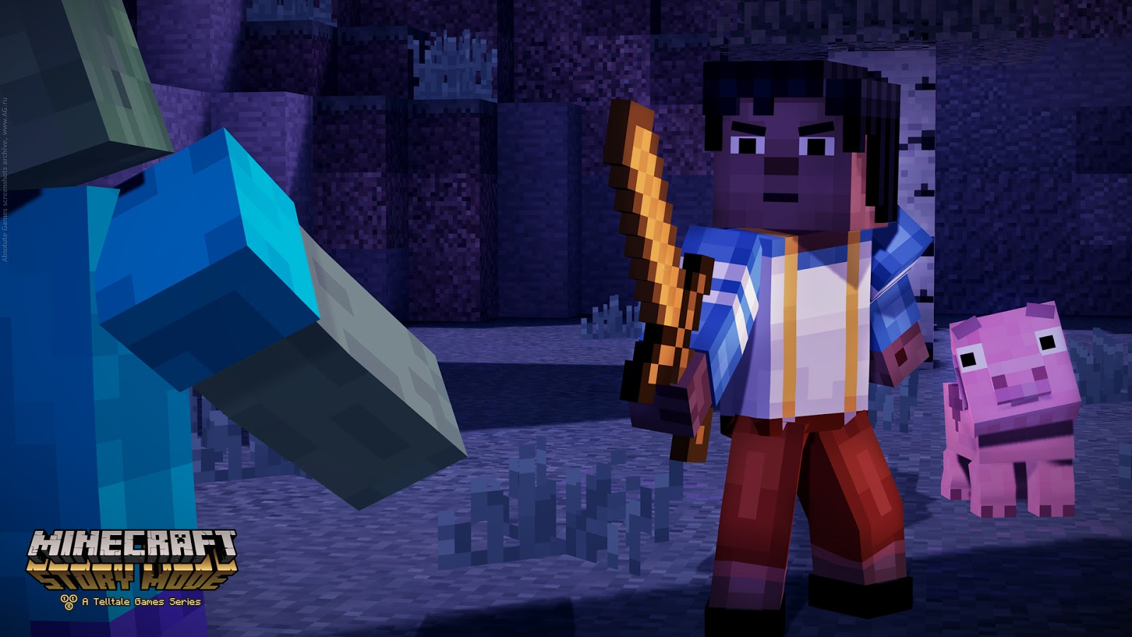 Hd wallpapers minecraft story mode hd wallpapers - Minecraft story mode wallpaper ...