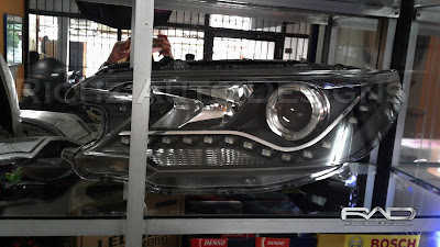 headlamp CRV 2013