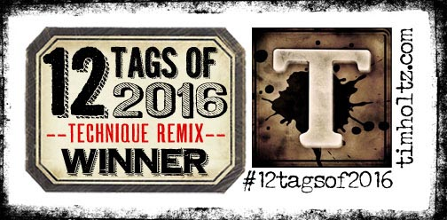 Twelve Tags Re-Mix Challenge 2016