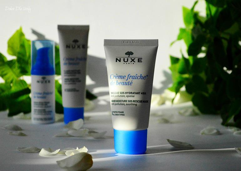 NUXE Crème fraîche® de beauté Maseczka o 24-godzinnym działaniu nawilżającym i kojącym