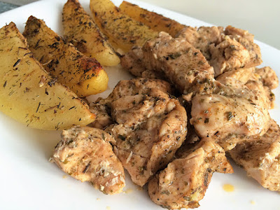 Pieczony kurczak gyros