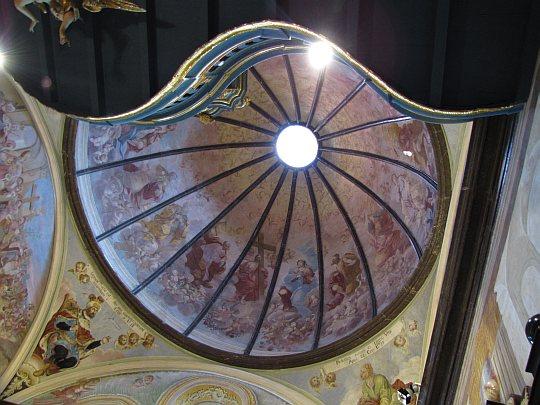 Czasza kopuły w kaplicy Oleśnickich