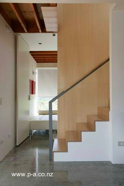Un sector interior del cuerpo añadido por la ampliación de la casa