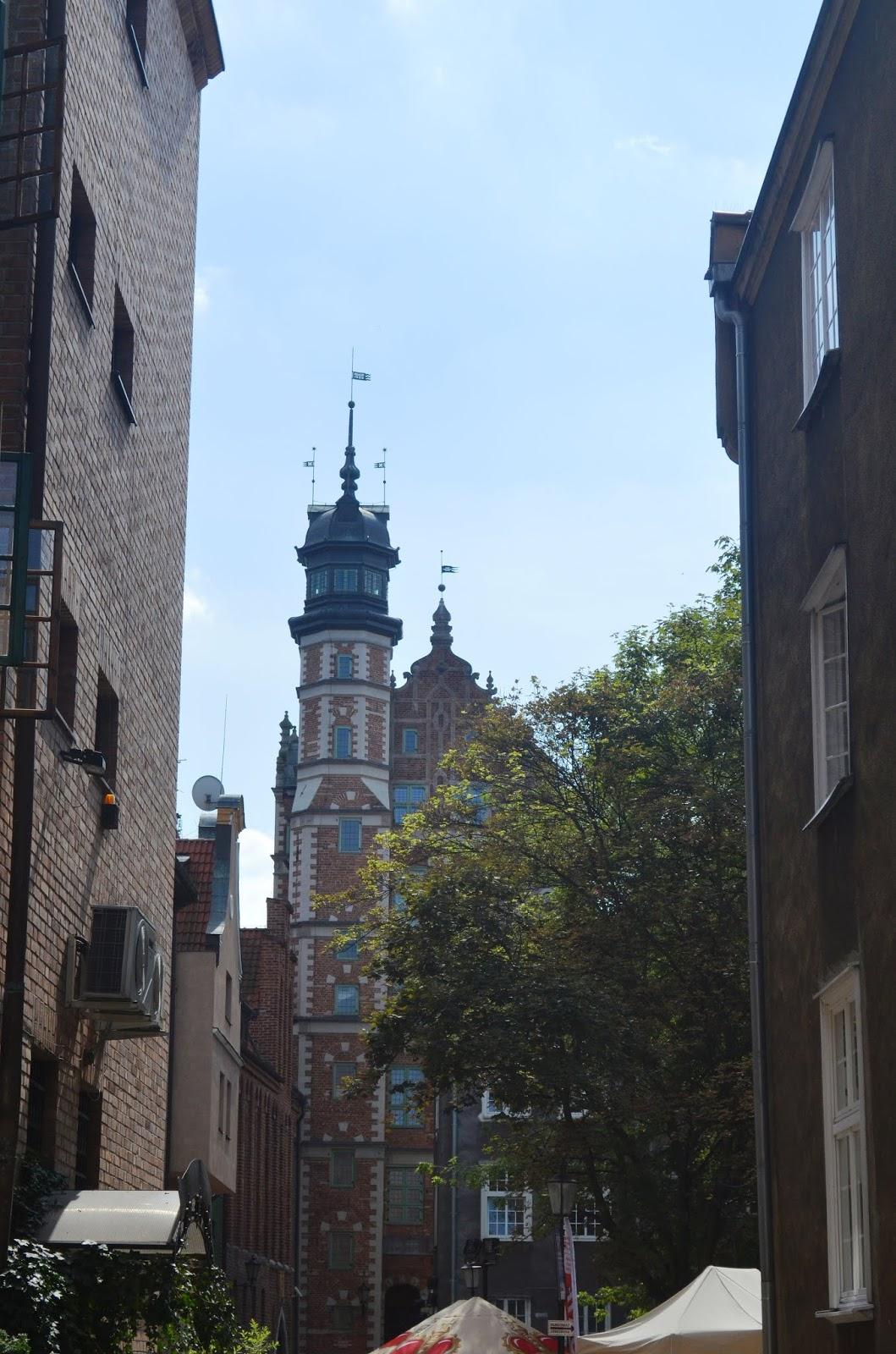 Gdańsk - old city in Poland