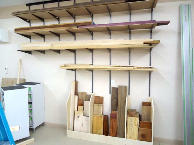 Lumber Storage Racks for Wood Shops
