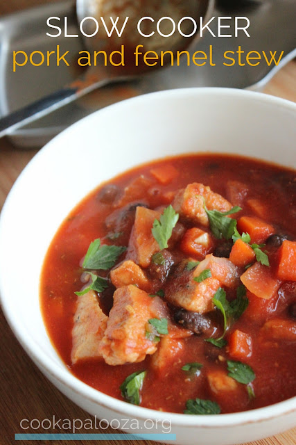 Hearty and Healthy Slow Cooker Pork and Fennel Stew