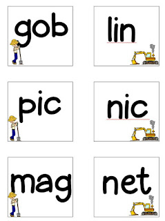 Miss Martel's Special Class: Closed Syllables