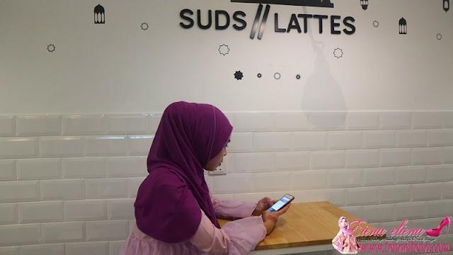 Pesan Suds & Lattes Dengan Uber Eats dan FoodPanda