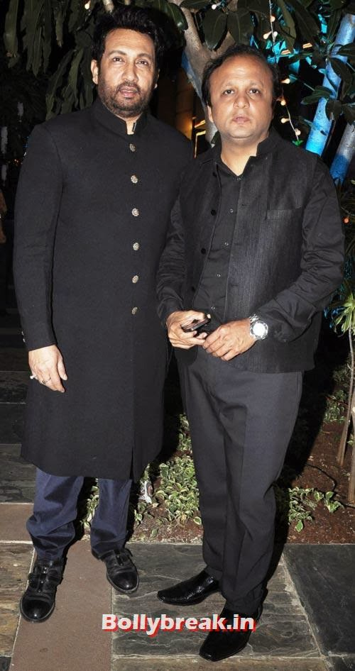 Shekhar Suman, Asif Bhamla, Sachiin Joshi and Urvashi Sharma's Diwali Party