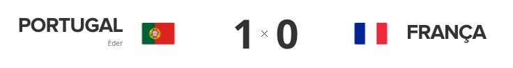 Portugal 1 - França 0