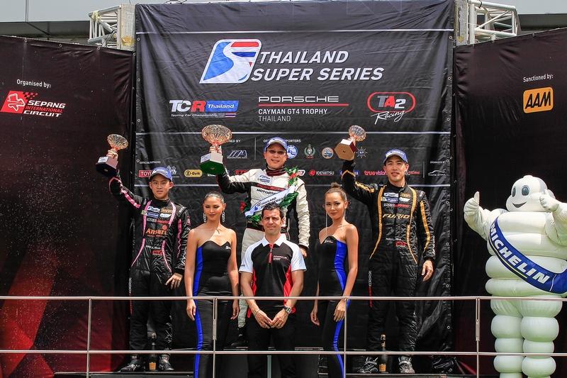 สนาม Sepang International Circuit ลุกเป็นไฟ ท่ามกลางการขับเคี่ยวกันอย่างดุเดือดในการแข่งขันรายการ Thailand Super Series 2018 และ GT Asia Series 2018    วุฒิกร นำทีม AAS Motorsport ประกาศศักดาขึ้นครองโพเดี้ยมในรุ่น Super Car GTM Plus