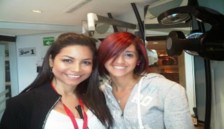 cabello color rojo