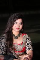 Sirisha Dasari in Red Ghagra Backless Choli ~  038.JPG